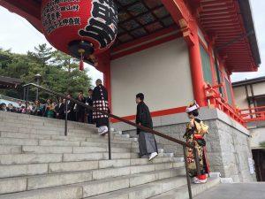 門戸厄神 東光寺にて結婚の儀を仏式にて執り行いました。画像2